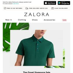 [Zalora] THIS JUST IN: Up to 80% off GSS!
