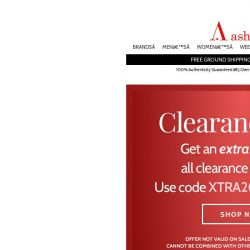 [Ashford] New Clearance Selection! Save Extra 20%