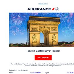 [AIRFRANCE] Celebrate Bastille Day with Air France!