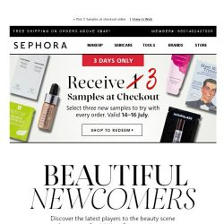 [Sephora] Guess what's new? ✨