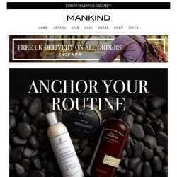 [Mankind] Enjoy 15% off your order + a FREE gift