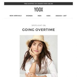 [Yoox] Spotlight on: going overtime with Fossil Q, Michael Kors and many other smartwatches