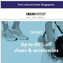 [ASOS] Up to 60% off shoes & accessories