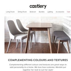[Castlery] Mix-and-Match to suit your style!