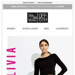 [Saks OFF 5th] Special Delivery: 121+ Alice + Olivia NEW Arrivals