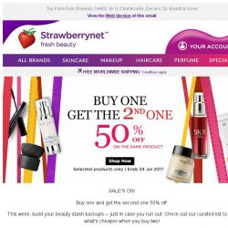 [StrawberryNet] , love #crazydeals? Pay Half Price for the 2nd one!