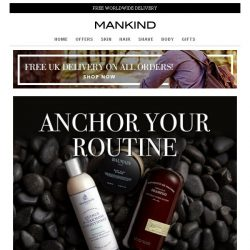 [Mankind] Anchor Your Routine | 20% off