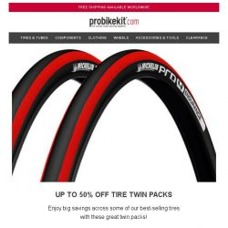 [probikekit] Up to 50% off Tire Twin Packs...