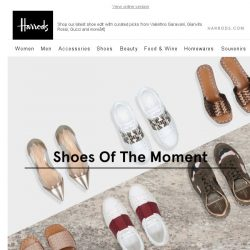 [Harrods] Shoes Of The Moment