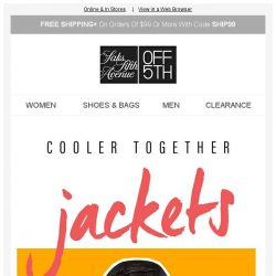 [Saks OFF 5th] Leather Jackets + Jeans Starting @ $59.99