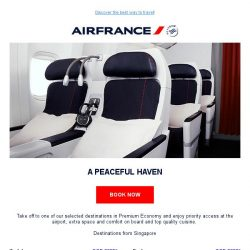 [AIRFRANCE] Our offers in Premium Economy!