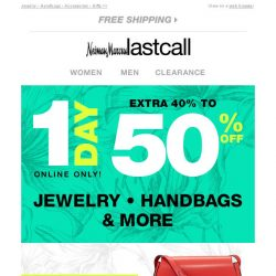 [Last Call] 1 DAY ONLY! John Hardy, Michael Aram, & more extra 40%–50% off