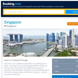 [Booking.com] Singapore, Kuala Lumpur or Bangkok? It's a tough choice...