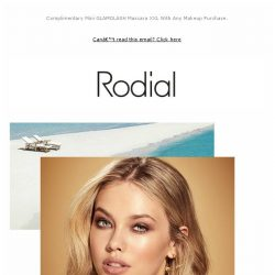 [RODIAL] In For A Glowing Bronzed Beach Look?