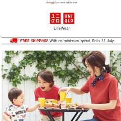 [UNIQLO Singapore] Good deals up for grab! From $9.90