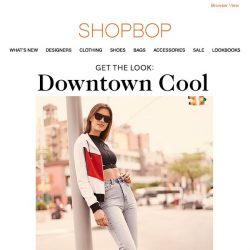 [Shopbop] Master the downtown cool look