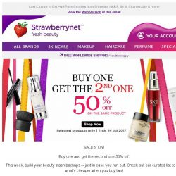 [StrawberryNet] , buy one Get One 50% Off Ends in 24 hours!