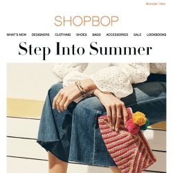 [Shopbop] These are not your average sandals