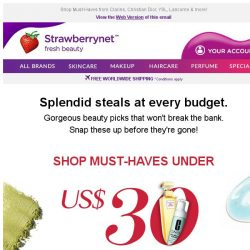 [StrawberryNet] 💸 See What's Under US$30 | US$40 | US$50.