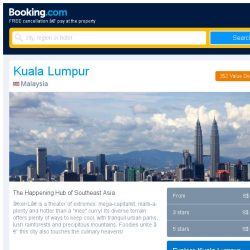 [Booking.com] Prices in Kuala Lumpur are dropping for your dates!