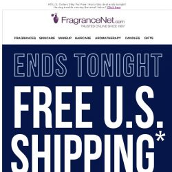 [FragranceNet] Up to 80% Off Plus Free Shipping.