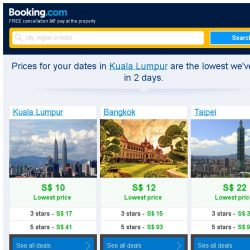[Booking.com] Prices in Kuala Lumpur dropped again – act now and save more!
