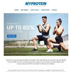 [MyProtein] Payday deals have landed... Up to 60% off!