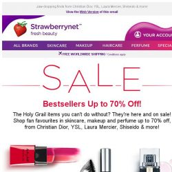 [StrawberryNet] ★☆ Beauty Bestsellers on SALE Up to 70% Off ☆★