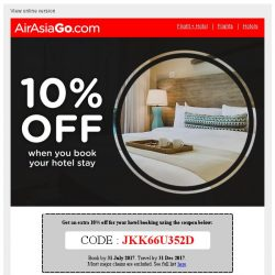 [AirAsiaGo] 🎁 Hurry, this coupon offer is only valid for 4 days! 🎁