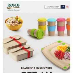 [Brand's] BRAND'S x Husk's Ware Exclusive Promotion!