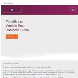 [Qatar] Fly with the World's Best Business Class. Save up to 45%* off.