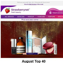 [StrawberryNet] August Top 40 Up to 70% Off!? #superstoked.