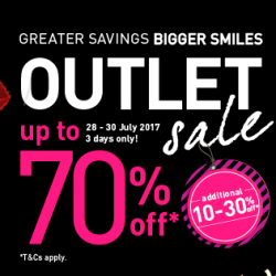 IMM: Outlet Sale Up to 70% OFF from Adidas, Timberland, Samsonite, Coach & More  Outlets!