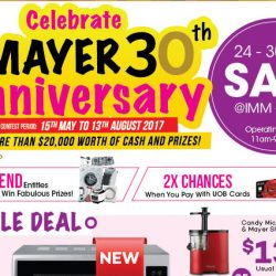 Mayer: 30th Anniversary IMM Sales with Special Deals on Home & Kitchen Appliances from Mayer, Mistral, Kitchenaid, Ariston & More
