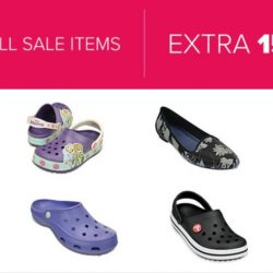 Crocs: Clearance Sale with Extra 15% OFF All Sale Items