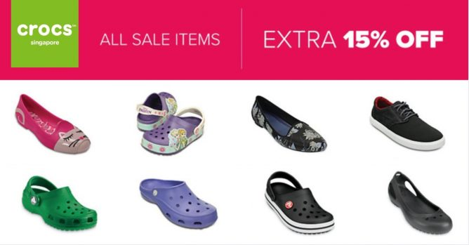 9bda12ed9 Crocs  Clearance Sale with Extra 15% OFF All Sale Items - 👑BQ.sg ...