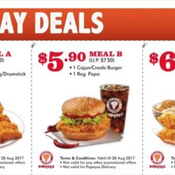 Popeyes: Save Up to $7.90 with Dine-in Coupon Deals!