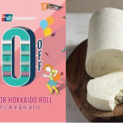 BreadTalk: Enjoy $10 OFF Chilled Cakes & Hokkaido Rolls with UnionPay Cards