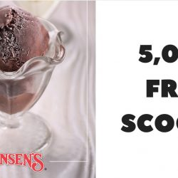 Swensen's: 5,000 FREE scoops of ice cream for Safra Members!