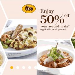 TCC-The Connoisseur Concerto: 1-for-1 Mains for Members & 50% OFF 2nd Mains for Non-Members