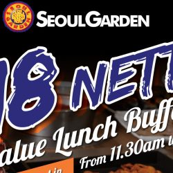 Seoul Garden: $18 Nett Value Lunch Buffet in July!