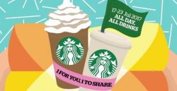 Starbucks: Flash This to Enjoy 1-for-1 Drink All-Day This Week