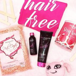 [Pink Parlour] Keeping your smooth and hair-free with our high quality products!