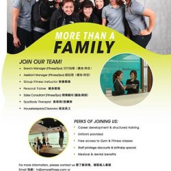 [Amore Fitness] For 31 years, Amore Fitness is more than a holistic service provider, but a family of passionate individuals with the