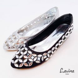 [Lavina] Bling Bling~ Our Crystal Studded Flats are now on SALE!