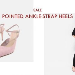 [Charles & Keith] CHARLESKEITH_ONLINE SALE: POINTED ANKLE-STRAP HEELS Shop Now: https://goo.