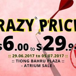 [Echo of Nature] Tomorrow marks the LAST DAY of our CRAZY SALE over at Tiong Bahru Plaza!