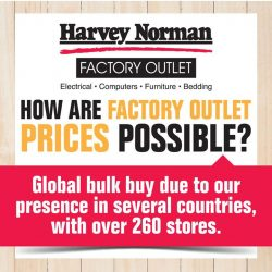[Harvey Norman] Enjoy amazing savings at HarveyNormanSG Factory Outlet on full leather furniture items!