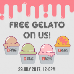 [Cathay Photo] Who needs a reason for a gelato treat?