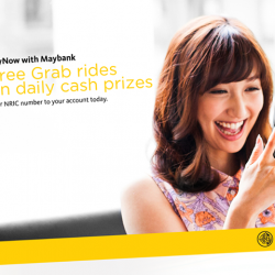 [Maybank ATM] PayNow with Maybank allows you to send and receive money effortlessly via a mobile or NRIC number.